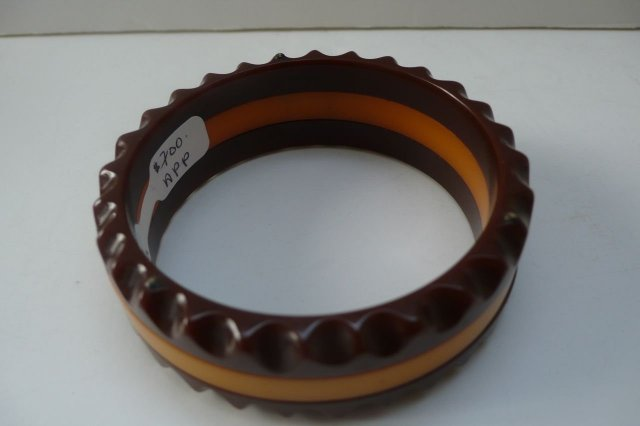 Bakelite Vintage Chocolate and Butterscotch