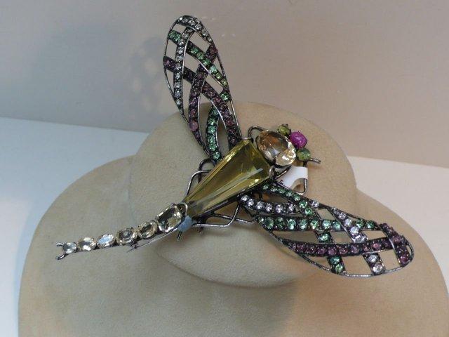 Iradj Moini Dragonfly Brooch