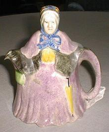 English Little Old Lady Teapot