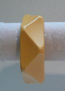 Bakelite Vintage Corn Colored Bangle