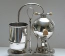 Victorian Silver Plate Tea & Coffee Maker