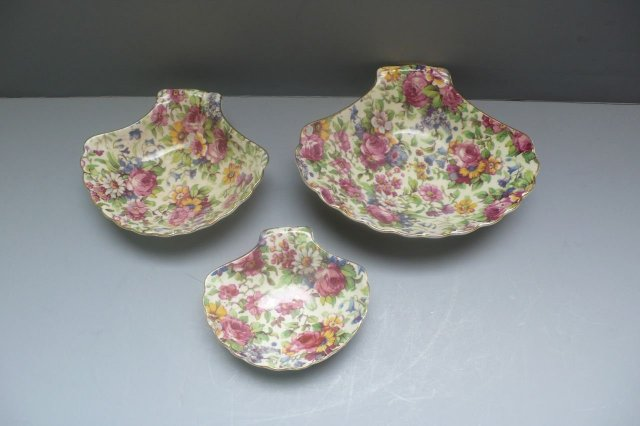 Royal Winton Vintage Summertime Set 3 Shell