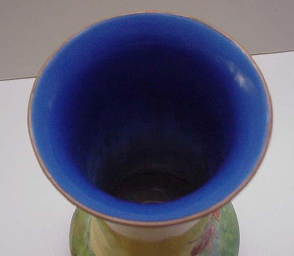 Crown Ducal Lustreware Vase