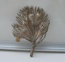 Victorian Sterling Large Kilt Brooch