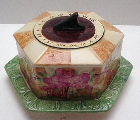 Royal Winton Sundial Cheese Keep