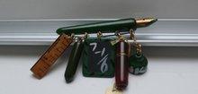 Bakelite Vintage School Brooch