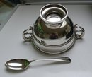 English Silver Christening Set