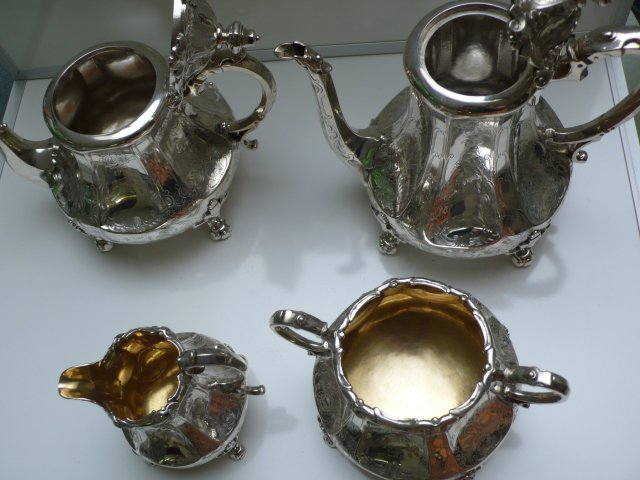 Victorian Sterling Silver Teaset
