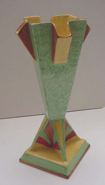 English Vintage Art Deco Vase