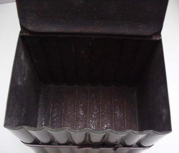 Victoroian Tin Book Biscuit Box