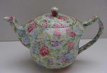 James Kent Vintage Hydrangea Teapot