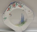 Shelley English Bone China Queen Anne Country Blue Bell Trio