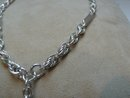 Victorian Sterling Silver Prince Albert Necklace