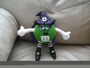 M&M Girl Plush Doll - Green - Wizard or Witch
