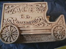 Treasure Craft Home Ice Co. Ice Wagon Vintage Remarkable Beautiful Cookie Jar
