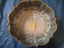 Stangl Bowl Antique Gold