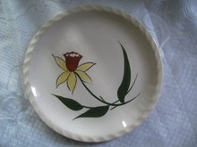 Blue Ridge Handpainted Dinner Plate