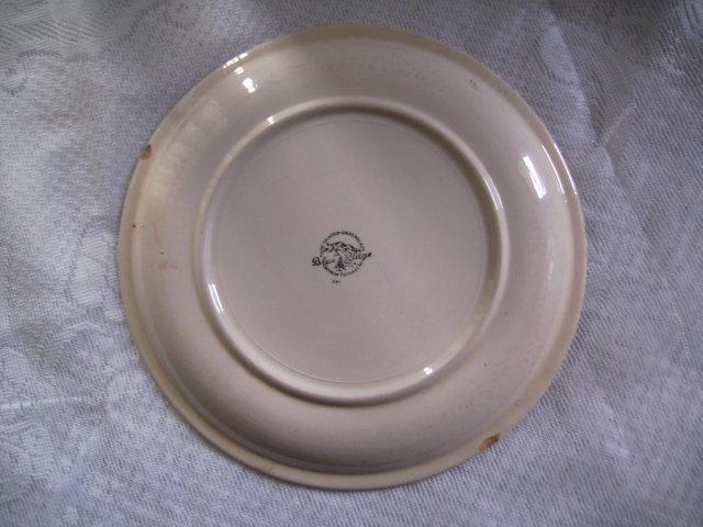 Blue Ridge Handpainted Dinner Plate