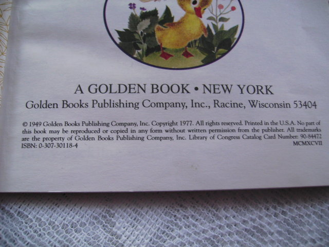 a First Little Golden Book The Fuzzy Duckling