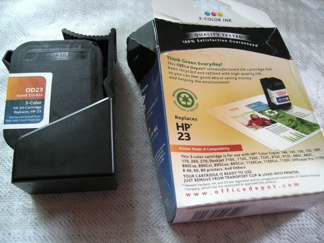 Hewlett Packard 3-color Inkjet Cartridge
