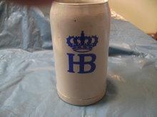 Hofbrauhaus (HB) Handmade Stoneware Stein