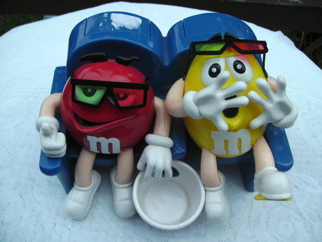 Mars, Inc  M&M's Characters at the Movies Candy Dispenser
