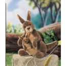 Jirra the Stuffed Kangaroo and Baby Joey by Gund