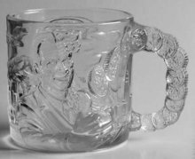 McDonalds Two Face Mug From The Batman Forever Movie