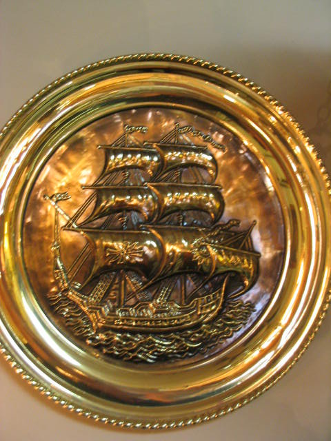 Sailing Ship Wall Plate