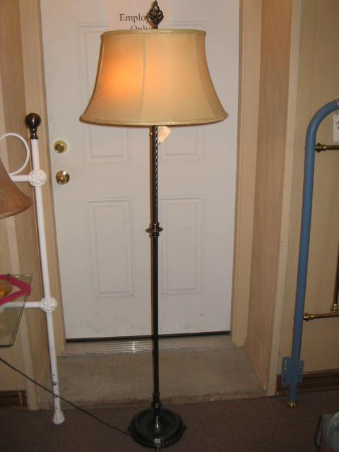Vintage 2-Light Floor Lamp