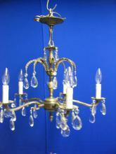 Vintage 5-Lite French Style Chandelier