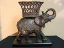 Elephant w/basket