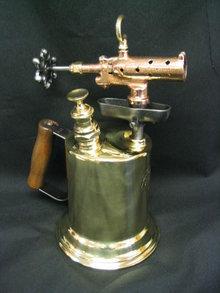 Vintage 1921 Brass Blow Torch