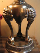 Foo Dog Oriental Lamp