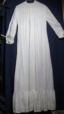 Victorian Cotton Voile Prairie Dress/Slip