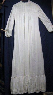 Victorian Cotton Voile Prairie Dress/Slip