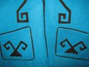 Mexican Aztec DesignTurquoise Vest