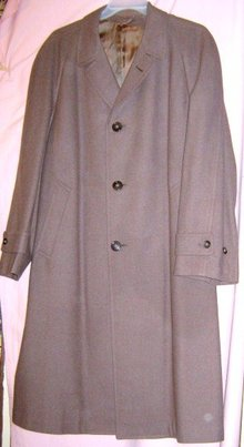 WWII Cashmere Wool Overcoat