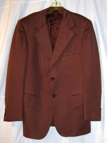 Retro Gentlemans Jacket Polyester 1970