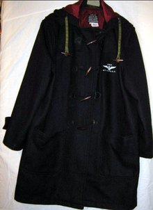 WWII US Navy Air Force Wool Coat Hood