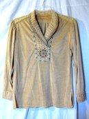 Plains Indian Embroidered Velvet Shirt