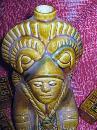 Bottle Decanter Mexico Aztec Figural