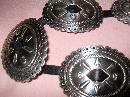 Santa Fe Ranchwear Nickle Silver Concho Belt