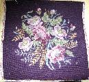 Needlepoint Tapestry For Chair Or Pillow