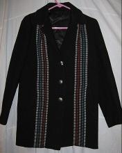 Chimayo Weaving Rare Black Jacket