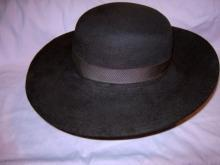 Western Pioneer Beaver Farmer's Antique Hat