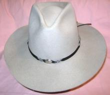 Cowboy Hat  Bailey Wool With Concho Hatband