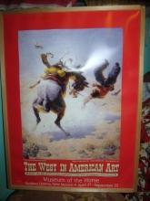 Cowboy Poster Horse Museum New Mexico