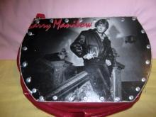 Bohemian Barry Manilow Record Purse