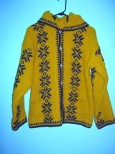 Mexican Zapotec Indian Hand Woven Sweater